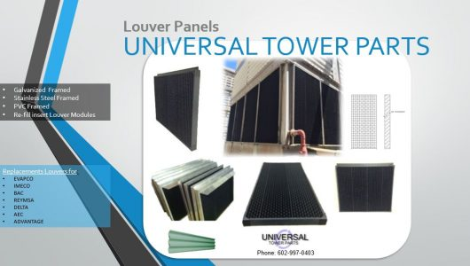 Cooling tower louvers banner ad