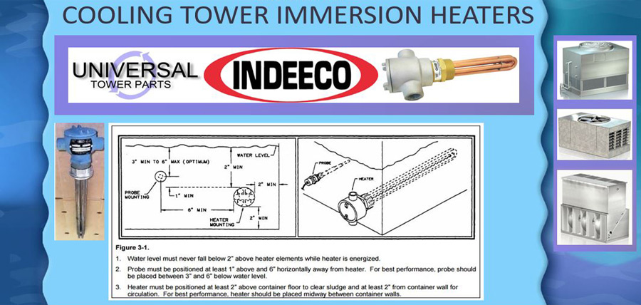 Basin Heaters | BAC, Evapco, Marley - Universal Cooling Tower Parts